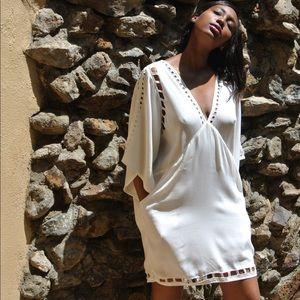 Anthropologie | White Malta Dress